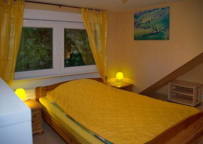 Schlafzimmer mit Doppelbett - Foto © Katharina Hansen-Gluschitz