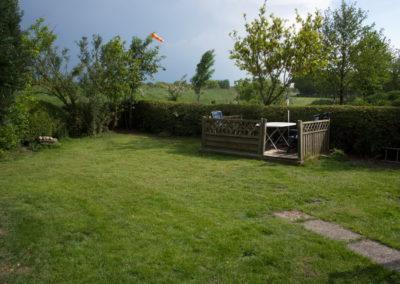 Ferienwohnung Upstallsboom - mit Gartennutzung - Foto © Katharina Hansen-Gluschitz