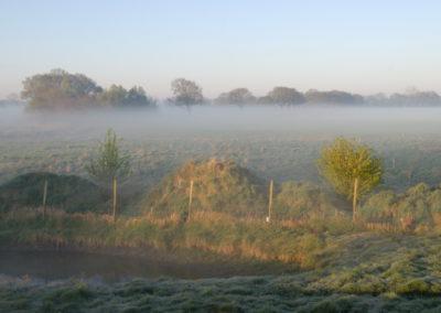 Nebel über den Feldern - Foto © Katharina Hansen-Gluschitz