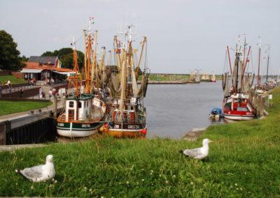 Der Hafen von Greetsiel - Foto © Katharina Hansen-Gluschitz