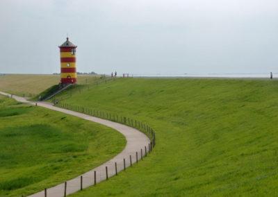 Pilsumer Leuchtturm - Foto © Katharina Hansen-Gluschitz