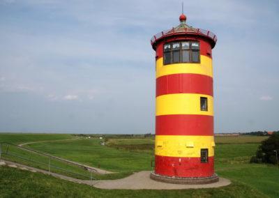 Der Pilsumer Leuchtturm - Foto © Katharina Hansen-Gluschitz