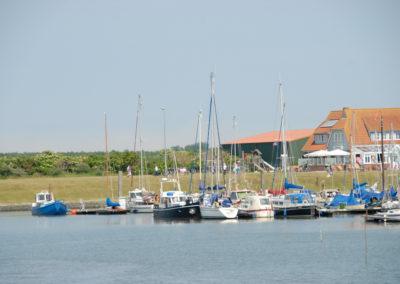 Hafen von Langeoog - Foto © Katharina Hansen-Gluschitz
