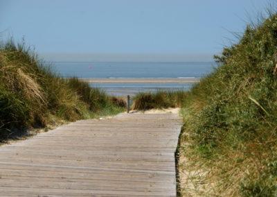 Zum Strand von Langeoog - Foto © Katharina Hansen-Gluschitz